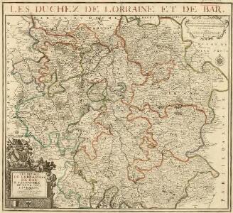 Les Duchez de Lorraine et de Bar les Evechez de Metz, Toul, et Verdun