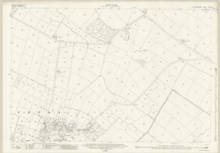 Nottinghamshire XXX.13 (includes: Averham; Staythorpe; Upton) - 25 Inch Map