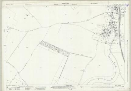 Wiltshire XLVIII.3 (includes: Collingbourne Ducis; Collingbourne Kingston; Everleigh) - 25 Inch Map
