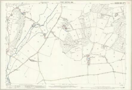 Wiltshire XXXVII.7 (includes: Hungerford; Inkpen; Shalbourne) - 25 Inch Map