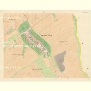 Borschütz - m0176-1-004 - Kaiserpflichtexemplar der Landkarten des stabilen Katasters