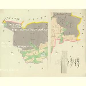 Lhotta (Lhota) - c1995-1-001 - Kaiserpflichtexemplar der Landkarten des stabilen Katasters