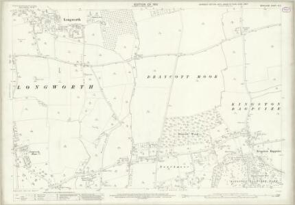 Berkshire IX.2 (includes: Draycot Moor; Kingston Bagpuize; Longworth) - 25 Inch Map