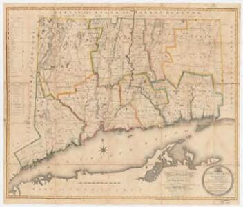 Connecticut : from actual survey, made in 1811