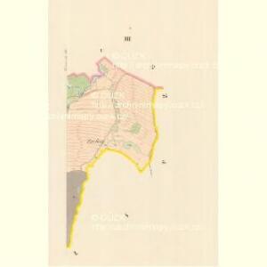 Komarowitz - m1257-1-003 - Kaiserpflichtexemplar der Landkarten des stabilen Katasters