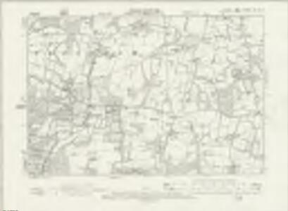 Sussex XXV.NE - OS Six-Inch Map