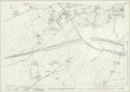 Middlesex X.15 (includes: Ealing St Mary; Harrow) - 25 Inch Map