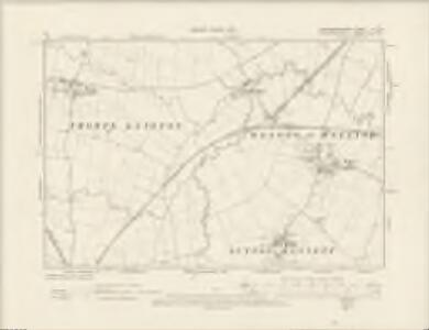 Northamptonshire X.SW - OS Six-Inch Map