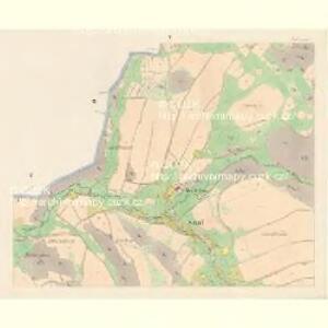 Sattel (Sedloňow) - c6810-1-004 - Kaiserpflichtexemplar der Landkarten des stabilen Katasters
