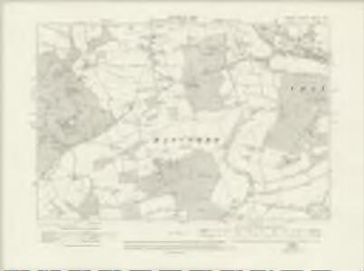 Surrey XXXIX.SW - OS Six-Inch Map