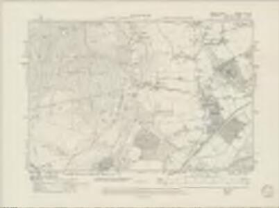 Sussex X.NW - OS Six-Inch Map