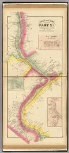 Upper Ohio River and Valley part XI, 173 to 193 miles below Pittsburgh ...(with) Lauchport, West Virginia, Cedarville, O. , Newport, W.V.