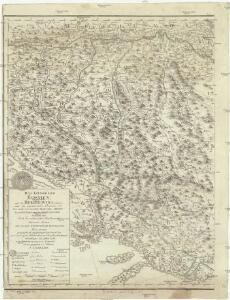 Das Koenigreich Bosnien, und die Herzegovina (Rama) samt den angraenzenden Provinzen von Croatien, Sclavonien, Temesvar, Servien, Albanien, Ragusa un dem Venetianischen Dalmatien
