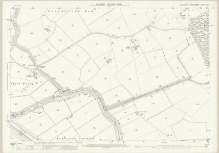 Lincolnshire LXXI.8 (includes: Bardney; Branston and Mere; Fiskerton; Heighington; Stainfield) - 25 Inch Map