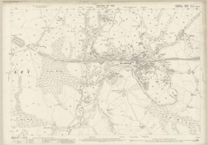 Cheshire XI.7 (includes: Charlesworth; Chisworth; Hyde; Longendale) - 25 Inch Map