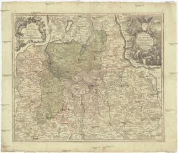 Marchionatus Lusatiae inferioris Bohemiae olim regno jam elect. Saxoniae subject in circulos, dynastias et praefect. accuratissime distinctus