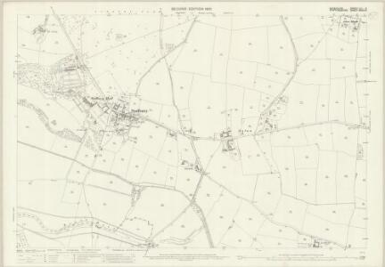 Derbyshire LIII.5 (includes: Draycott in the Clay; Foston and Scropton; Marchington; Sudbury) - 25 Inch Map