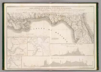 Floride, Delta du Mississippi canal.