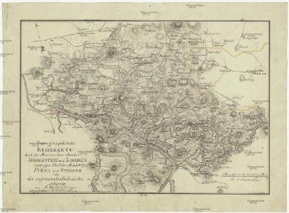 Topographische Reisekarte durch die Meissnischen Aemter Hohenstein und Lohmen und einen Theil der Aemten Pirna und Stolpen oder die sogenannte Sächsische Schweiz