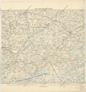 Übersichtskarte von Mittel - Europa