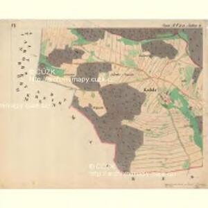 Zlabings - m2780-1-010 - Kaiserpflichtexemplar der Landkarten des stabilen Katasters