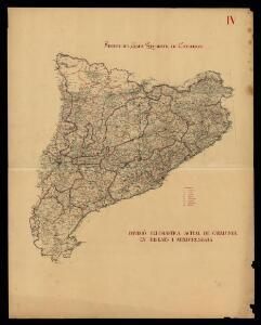 Divisió eclesiàstica actual de Catalunya en bisbats i arxiprestats