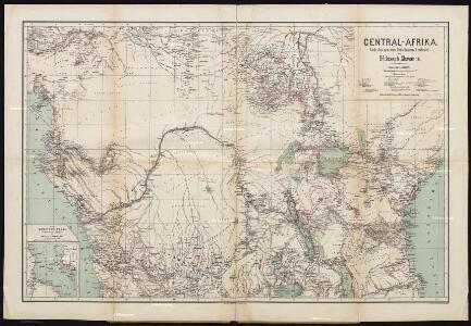 Karte von Central-Afrika. Nach den neuesten Forschungen bearbeitet von Dr. Joseph Chavanne.