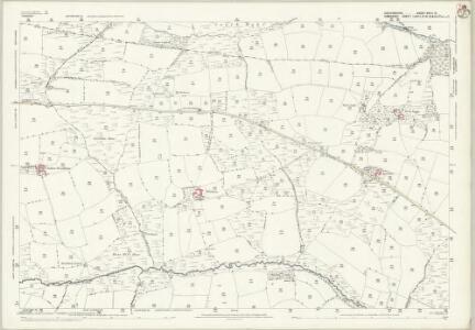 Devon XXIII.12 (includes: Brushford; East Anstey; Oakford) - 25 Inch Map