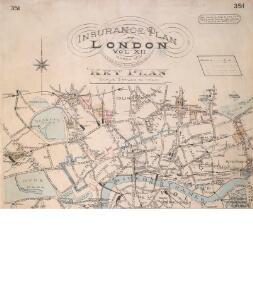 Insurance Plan of London Vol. xi: Key Plan 1