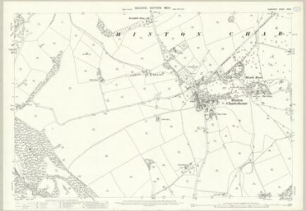 Somerset XXI.6 (includes: Hinton Charterhouse; Norton St Philip; Wellow) - 25 Inch Map
