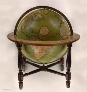 Cary's New Terrestrial Globe.