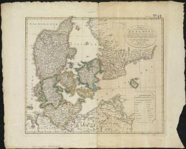 Charte des Königreichs Daenemark, nach Murdochischer Projection und nach den trigonometrischen Charten der König
