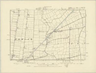 Lincolnshire CXIX.SW - OS Six-Inch Map