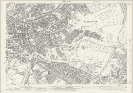 Lancashire CXVI.1 (includes: Warrington) - 25 Inch Map