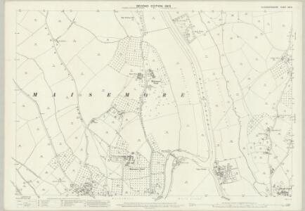 Gloucestershire XXV.6 (includes: Highnam; Maisemore; Sandhurst) - 25 Inch Map