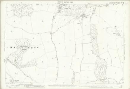 Oxfordshire L.16 (includes: Bix; Fawley; Hambleden; Pishill with Stonor) - 25 Inch Map