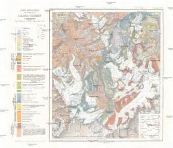 Carte géologique de la région du Grand Combin