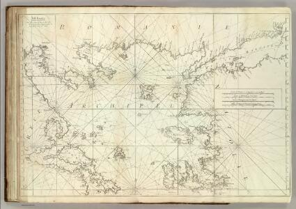 Carte De La Mer Mediterranee.  XII.