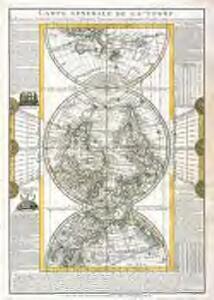 Carte generale de la terre