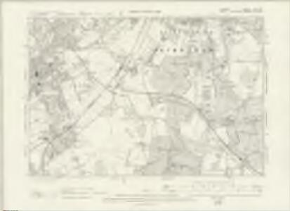 Surrey XIV.NE - OS Six-Inch Map