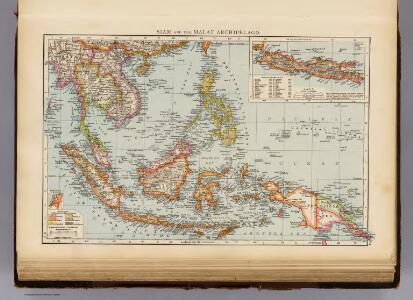 Siam, Malay Archipelago.