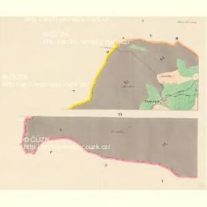 Schönwald - c3869-2-001 - Kaiserpflichtexemplar der Landkarten des stabilen Katasters