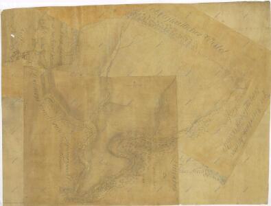Geometrický plán lesů u Líšnice s přilehlými činžovními a propachtovanými pozemky 1