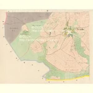 Nehodiw - c5008-1-002 - Kaiserpflichtexemplar der Landkarten des stabilen Katasters