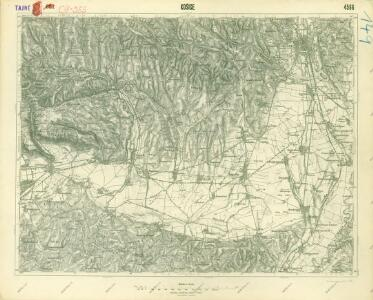 III. vojenské mapování 4566