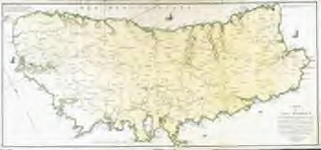 Carte de l'isle Minorque