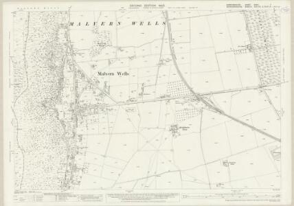Herefordshire XXXVI.7 (includes: Colwall; Hanley Castle; Malvern Wells) - 25 Inch Map