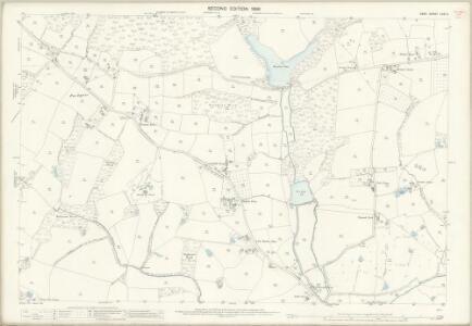 Kent LXXI.11 (includes: Tenterden) - 25 Inch Map