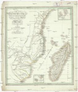 Die Ostküsten süd Africa nebs der Insel Madagascar, den Comoren, Sechellen, Amiranten und Mascarenischen Inseln