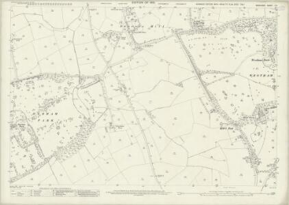 Middlesex I.15 (includes: South Mimms) - 25 Inch Map